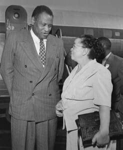 | Paul Robeson performer and Charlotta Bass newspaper editor were both political activists targeted by Congress | MR Online