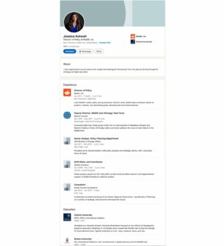   Ashoohs LinkedIn resume epitomizes the troubling relantionship between think tanks and big tech   MR Online