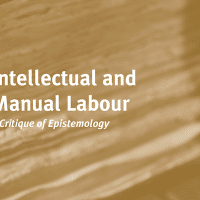Alfred Sohn-Rethel Intellectual and Manual Labour: A Critique of Epistemology