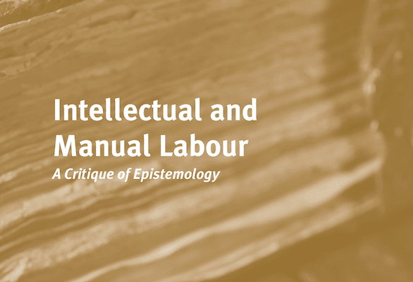 | Alfred SohnRethel Intellectual and Manual Labour A Critique of Epistemology | MR Online