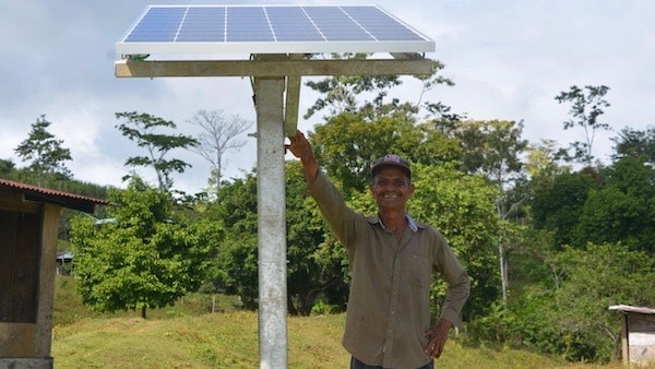 | Nicaraguas green revolution has not only seen investment in renewable sources of energy but it has also brought electrical power to areas that did not have access before Photo ENATREL | MR Online