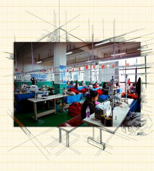 | Resettled residents work in a clothing factory | MR Online