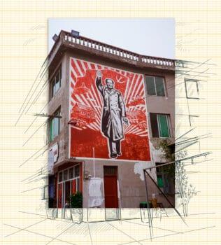 | Mural of Mao Zedong | MR Online