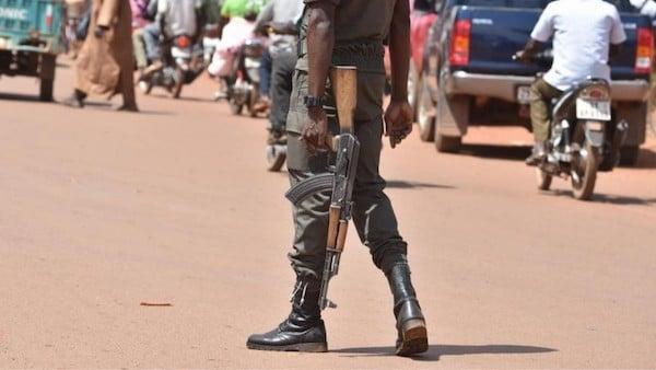   A soldier patrols the streets of Ouagadougou Burkina Faso October 2018   MR Online
