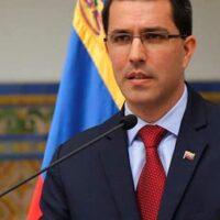 Foreign Affairs Minister of the Bolivarian Republic of Venezuela, Jorge Arreaza