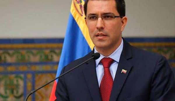 | Foreign Affairs Minister of the Bolivarian Republic of Venezuela Jorge Arreaza | MR Online