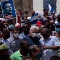 Cuban President Miguel Díaz-Canel