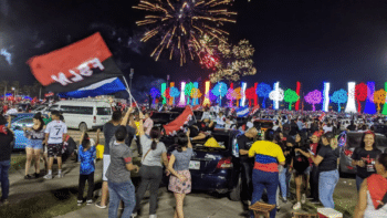 | During a midnight fireworks launch Nicaraguans blasted revolutionary music from their cars and partied into the early morning | MR Online