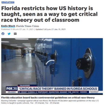 | Floridas new rules teachers may not define American history as something other than the creation of a new nation based largely on universal principles stated in the Declaration of Independence USA Today 61121 | MR Online