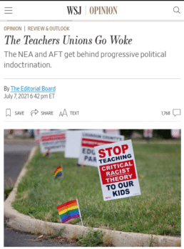 | The Wall Street Journal 7721 takes aim at critical race theory which it describes as a neoMarxist ideology thatteaches that a person is defined above all else by race gender and sexual orientation | MR Online