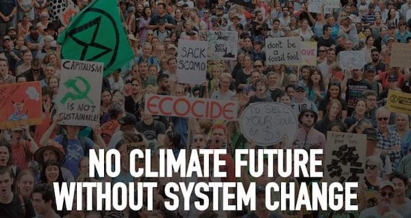 | No climate future without system change | MR Online