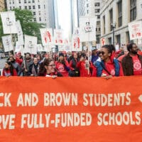 Chicago Teachers on strike for fully-funded schools and racial justice