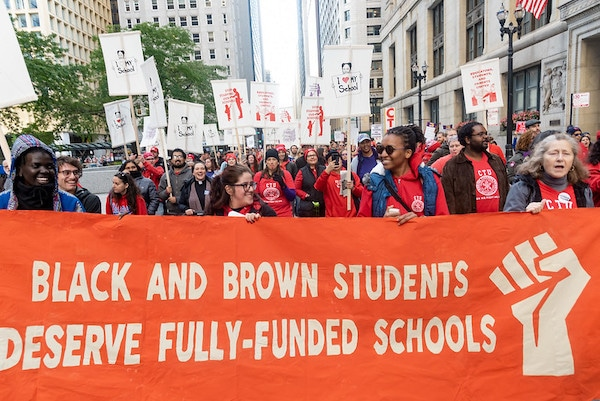 | Chicago Teachers on strike for fullyfunded schools and racial justice | MR Online