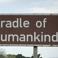 Cradle of Humankind sign