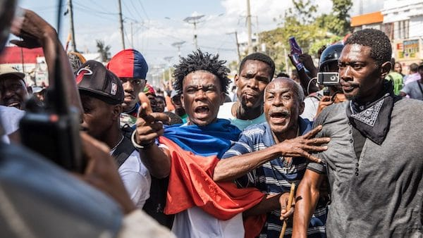 | Demonstrators marched in PortauPrince on February 14 2021 | MR Online
