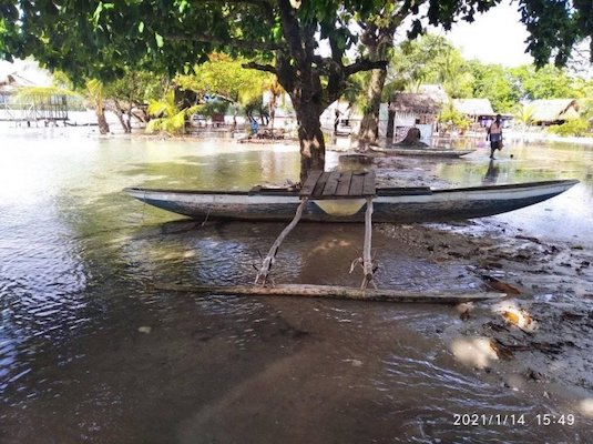 | Saltwater inundation in the west New Britain province of Papua New Guinea | MR Online