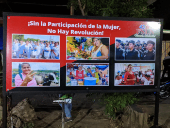 | The vigilia in San Antonio was organized by local Sandinista activists | MR Online