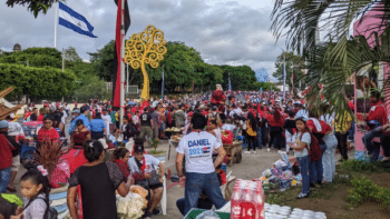 | Before COVID19 broke out Managua was the site of massive rallies each July 19 | MR Online