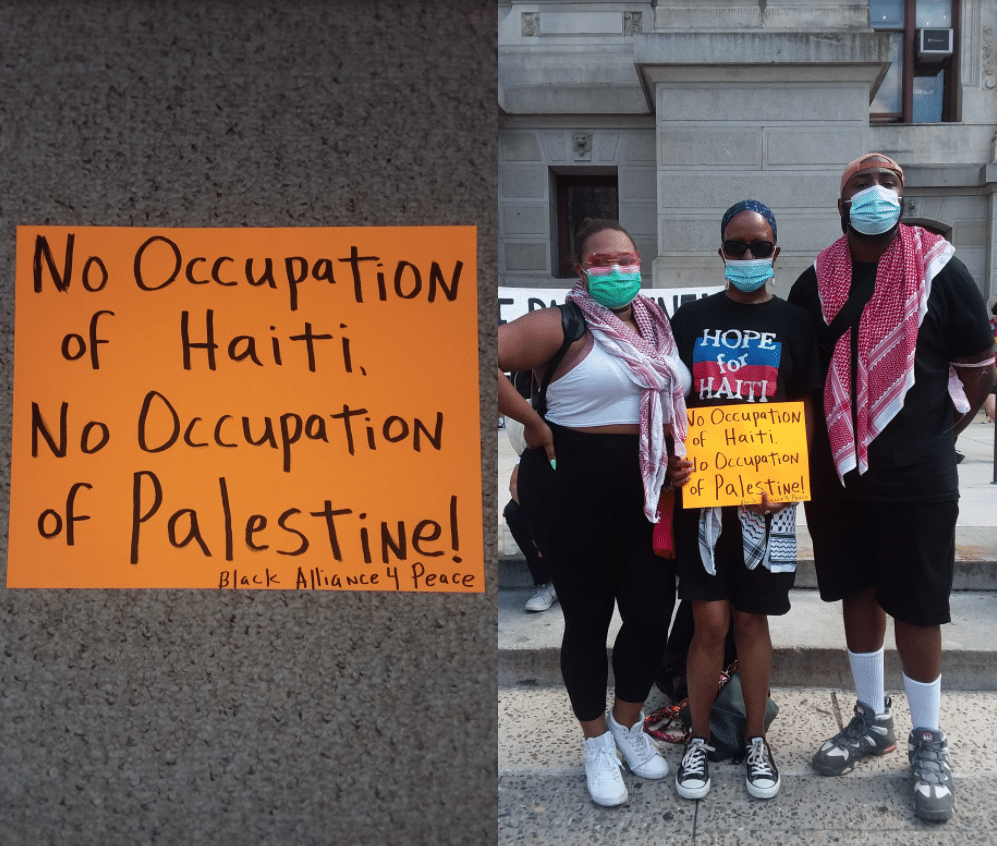 Why Human Rights in China and Tigray But Not in Haiti Palestine or Colombia | MR Online | July 10 Philly 4 Palestine rally | MR Online