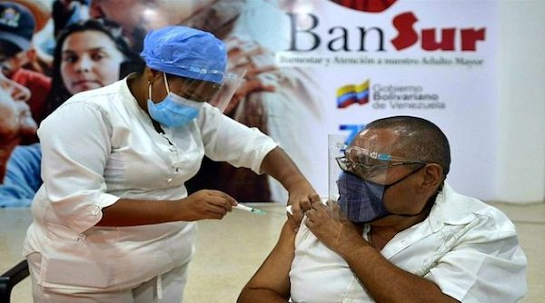 | Despite the harsh US sanctions about 11 of the Venezuelan population has been vaccinated Photo Venezuelan Ministry of HealthTwitter | MR Online