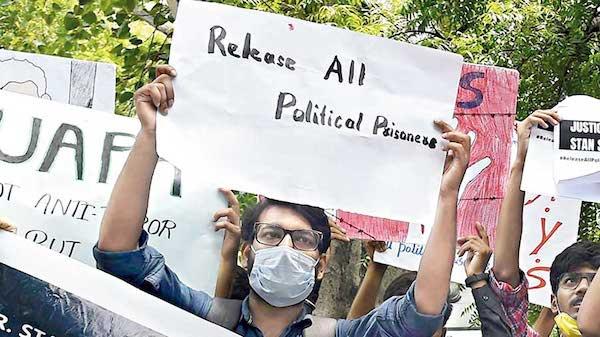   Demonstration against political prisoners   MR Online