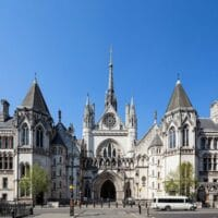 The High Court at the Royal Courts of Justice.