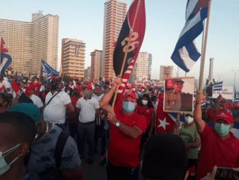 | Mass Cuban demonstrationd in Havana | MR Online