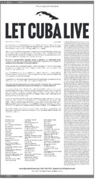 | Open Letter opposing the embargo | MR Online