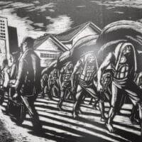 "Leonilo ""Neil"" Dolirocon's socialist art at National Gallery Manila."