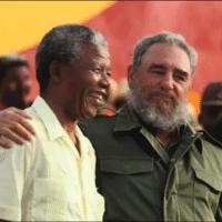 Fidel Castro and Nelson Mandela