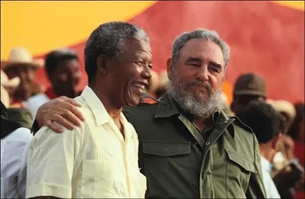 | Fidel Castro and Nelson Mandela | MR Online