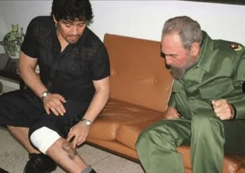 | Fidel Castro and Diego Maradona | MR Online