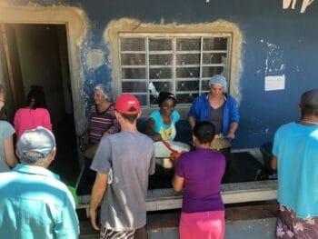 | Community kitchen at Camp Marielle Vive 2019 | MR Online