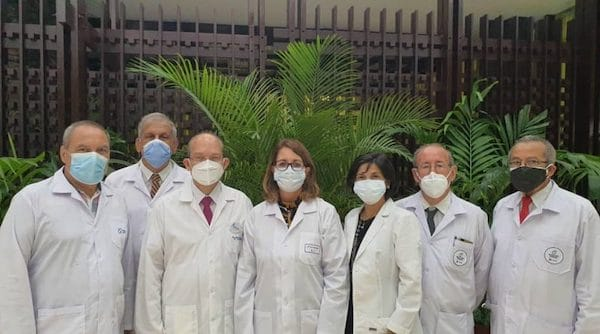 | Cuban scientists held a press conference in Havana on Tuesday August 10th | MR Online