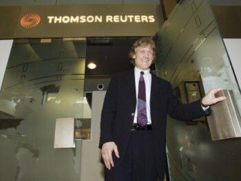 | David Thomson chairman of Thomson Reuters | MR Online