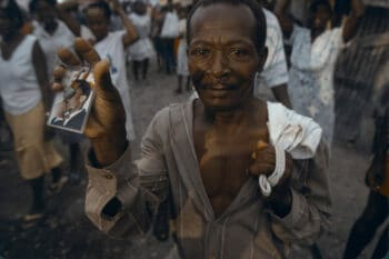 | 24 September 1994 Haitians march in prodemocracy and proAristide demonstrations after the arrival of United States troops in PortauPrince Photograph by Andrew Lichtenstein Corbis via Getty Images | MR Online