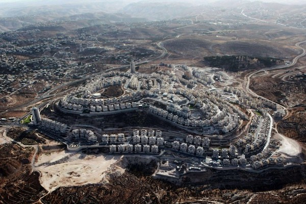  An aerial view of the Israeli settlement of Tekoa in the occupied West Bank   MR Online