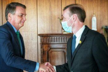| Brazils farright president Jair Bolsonaro greets US National Security Advisor Jake Sullivan | MR Online