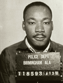   Martin Luther King in the Birmingham jail 41663   MR Online