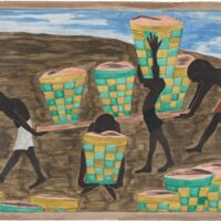 Panel 24 from Migration by Jacob Lawrence