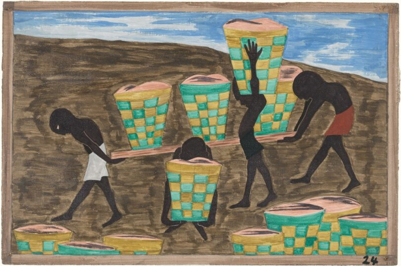   Panel 24 from Migration by Jacob Lawrence   MR Online