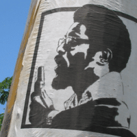 Walter Rodney poster, Georgetown, Guyana, July 2005. (Photo: Flickr/Nicholas Laughlin)