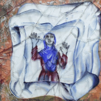 Malina Suliman (Afghanistan), Girl in the Ice Box, 2013.