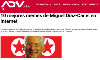 | ADN Cuba mocks DiazCanel by merging his face with that of North Korean leader Kim Jongun | MR Online