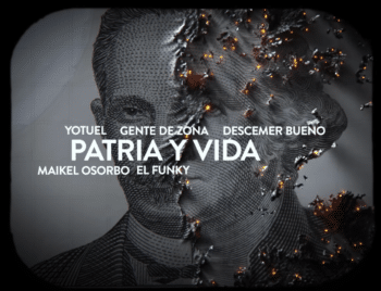 | The opening image of the video of Patria y Vida | MR Online