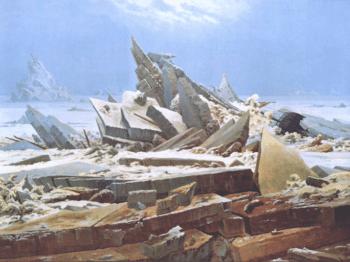   Caspar David Friedrich Das Eismeer 182324 Oil on canvas   MR Online