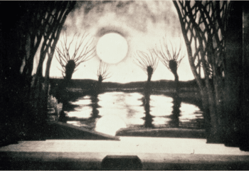   A stage set from a 1926 production of Wozzeck at Pragues National Theater Photo The Listener   MR Online