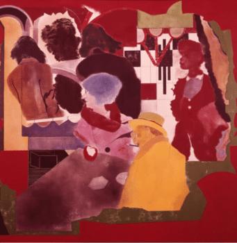   RB Kitaj Arcades After Walter Benjamin 1972 Oil on canvas   MR Online