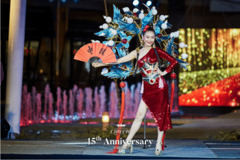 | Lacey Wang strikes a pose during a beauty contest 2021 | MR Online
