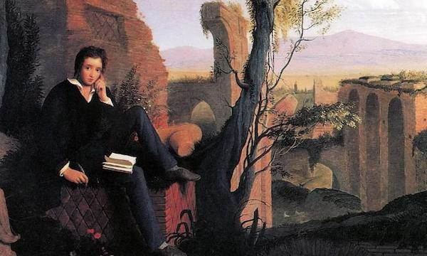 | A portrait of Percy Bysshe Shelley | MR Online